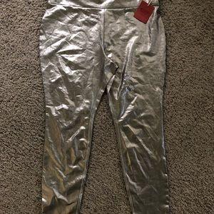 Pants - Brand New Metallic Leggings!
